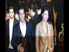 Salman Khan with Jacqueline Fernandez at STAR GUILD AWARDS.