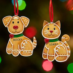 Honor their fur-ever buddy with our perfectly precious pet ornament.