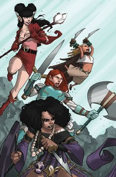 Rat Queens #2 (Cover A) (Virgin Cover) #Image #RatQueens (Cover Artist: Roc Upchurch) On Sale: 10/23/2013
