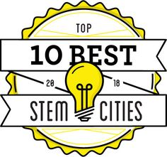 Looking for a great city with high-paying STEM jobs? We analyzed more than 2,000 American cities, and these 10 came out on top.