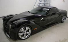 XL Stainless Custom Corvette featuring Morgan-inspired styling - Diseno-art