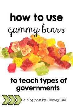 Confessions of a Teacher Who Lets Her Students Play with Food Shays' Rebellion, Teaching Government, Gummy Bears, Social Studies, Confessions, Middle School, Classroom, Teacher, Let It Be
