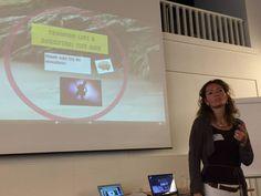 @AdelkaVendl traint als een Rockstar op de NVO2 #ATD2015 post-meeting over 'body & mind in leren'