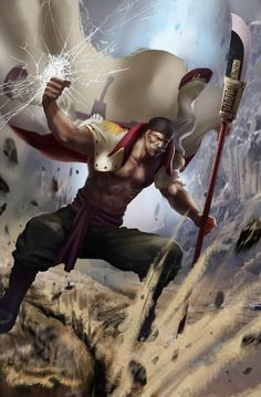 Whitebeard by young-street.deviantart.com on @DeviantArt