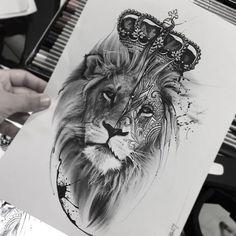 León tatoo
