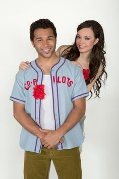 GODSPELL's new costars Corbin Bleu and Anna Maria Perez de Tagle