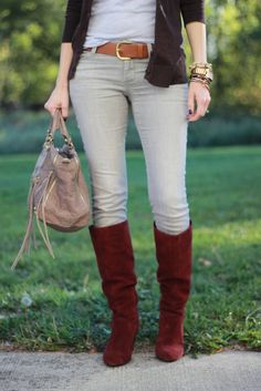 Lilly's Style: Fall = boots and layers