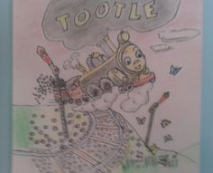 Golden Book's Tootle the Train.