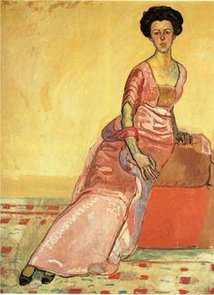 Ferdinand Hodler :: Portrait of Gertrud Muller