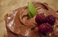Pudín de chocolate de aguacate