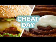 Healthy Food Videos - 8 Healthier Versions Of Your Favorite Cheat Foods Healthy Breakfast Snacks, Best Breakfast Recipes, Ketogenic Breakfast, Buzzfeed Tasty, Buzzfeed Food, Buzzfeed Video, Healthy Meals To Cook, Healthy Recipes, Cooking Recipes