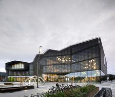 Cultural Center Stjørdal / Reiulf Ramstad Arkitekter + Lusparken Arkitekter + JSTArkitekter