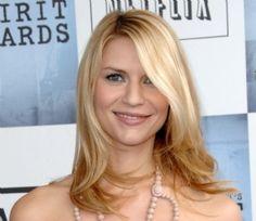 blonde mid length hair