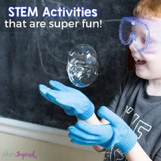 These STEM activities are all fun, engaging and hands-on. They are sure to excite your kids and make teaching STEM simple and easy for parents and teachers! Stem Activities, Summer Activities, Steam Learning, Stem Steam, Homeschooling, Teaching, Projects, Fun, Kids