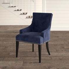 Dining Chairs - The Best Details About Furniture Youll Find Online Is Here Navy Blue Dining Chairs, Solid Wood Dining Chairs, Upholstered Dining Chairs, Dining Chair Set, Dining Room Chairs, Side Chairs, Chair Upholstery, Dining Table, Traditional Dining Chairs