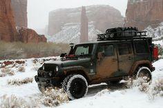 Jeep JK #overland