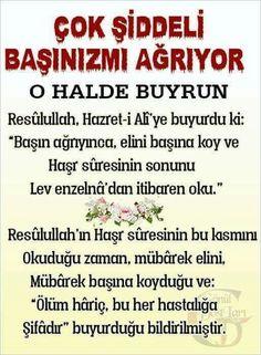 Baş ve ağrı şifa duası Learn Turkish, Islam Religion, Allah Islam, Critical Thinking, Quran, Sufi, Prayers, Humor, Quotes