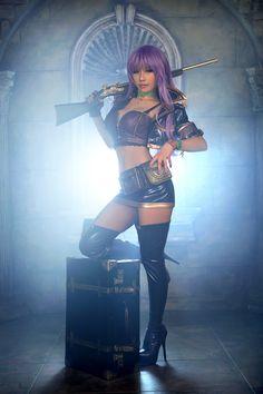 Model: TASHA Spcats (타샤 - 오고은) Oh Go-Eun |  Cosplay: Rusty hearts (Xunlei Games) |  Character: Natasha Borzenkova |  #Tasha #타샤 #오고은 #Spcats #Cosplay #RustyHearts #Armour #Fantasy #Costume | Pin by @settimamas