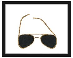 SUNGLASSES - DENISE FIEDLER | sunglasses art, print | UncommonGoods