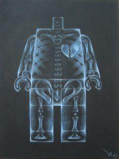LEGO X-ray man #lego #xray