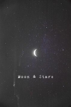 iPhone wallpaper | lockscreen | papel de parede | plano de fundo | background | moon | stars | lua