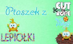 ptaszek ,bird,  cute the rope, cute the rope magic, om nom, tutorial, polymer clay, tips, made hand, lepiołki,