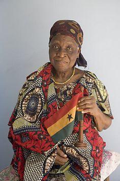 The creator of the Ghanaian National Flag, Mrs Theodosia Okoh
