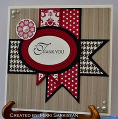 Mikki's Creative Corner  I would omit flower and use studs instead pearls for masculine card
