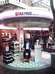 Hendrick's Gin Gosh Salon