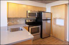 Space Lofts, Toronto - Photos Concrete Ceiling, Toronto Photos, Kitchen Cabinets, Kitchen Appliances, Steam Room, Floor To Ceiling Windows, Guest Suite, Lofts, Lockers