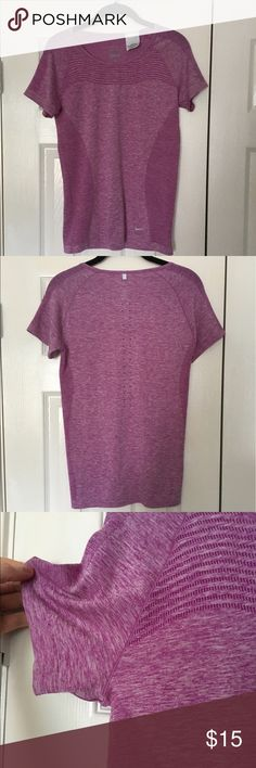 Nike Dri-Fit Shirt Nike purple dry fit shirt. Size M. Lightly worn. Condition is great. Make me an offer! Nike Tops