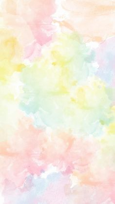 Pastel Watercolor wallpaper by I_Hannah - db - Free on ZEDGE™ Wallpaper Iphone Pastell, Watercolor Wallpaper Phone, Pastel Color Wallpaper, Pastel Background Wallpapers, Rainbow Wallpaper, Aesthetic Pastel Wallpaper, Iphone Background Wallpaper, Pretty Wallpapers, Colorful Wallpaper