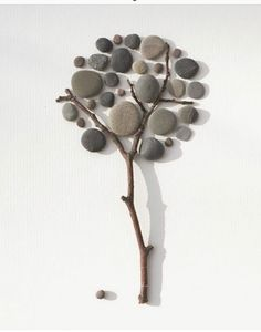 60 Best Stone Art Ideas Perfect For Beginners - artmyideas Stone Crafts, Rock Crafts, Diy Home Crafts, Stone Pictures Pebble Art, Stone Art, Family Tree With Pictures, Art Pierre, Pebble Art Family, Rock Painting Designs