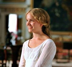""""""" Another Jane Austen fan realising a dream by participating in the film is Tamzin Merchant. She was cast as Georgiana, Darcy's sister, after writing a letter to the casting director and explaining. Tamzin Merchant, Pride & Prejudice Movie, Jane Austen Movies, Becoming Jane, Matthew Macfadyen, Mr Darcy, Models, Actresses, Actors"""