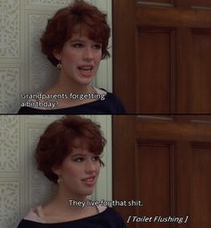 16 candles - Oh Molly. Directed by John Hughes 90s Movies, Funny Movies, Great Movies, Indie Movies, Awesome Movies, Ferris Bueller, Series Quotes, Film Quotes, Sad Quotes