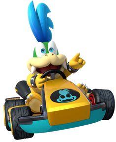 Larry   Mario Kart 8