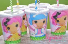 Hey, I found this really awesome Etsy listing at https://www.etsy.com/listing/168949914/lalaloopsy-party-cups-birthday-party-set
