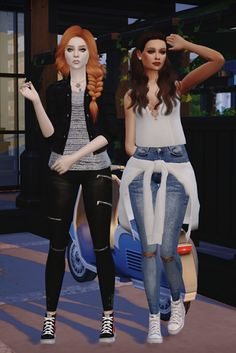 Sims 4 CC's - The Best: Converse Sneakers by DreamTeamSims