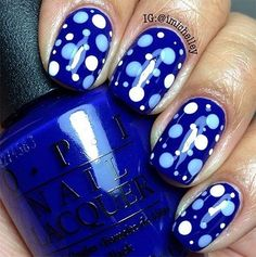 Here Are the Coolest 38 Polka Dot Nail Art Patterns in the World ...