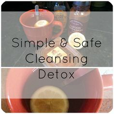 Simple cleansing detox that is safe and easy! You can do it for one day or up to seven days!