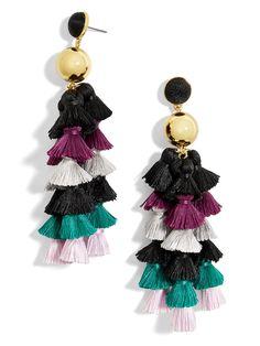 Corsetta Tassel Earrings