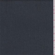 Navy/Black Suiting - 35057 - Fabric By The Yard At Discount Prices