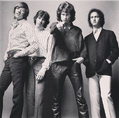 Ray Manzarek, John Densmore, Jim Morrison and Robby Krieger.
