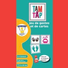 Tam Tap : jeu de gestes et de cartes - rythmes
