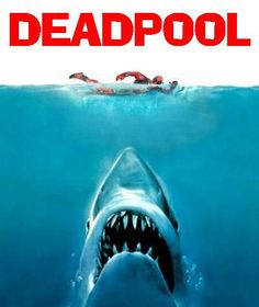 Deadpool vs Jaws by DeadpoolFool.deviantart.com on @deviantART