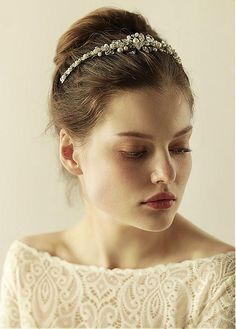 FTW Bridal Wedding Dresses Wedding Dresses Online, Wedding Dress Plus Size, Collection features dresses in all styles as well as more traditional silhouettes. Customize your bridal gown now! Wedding Dresses Plus Size, Bridal Wedding Dresses, Bella Wedding, Bow Sneakers, Hair Jewelry, Elegant, Headpiece, Wedding Hairstyles, Beads
