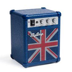 British retro mini speaker