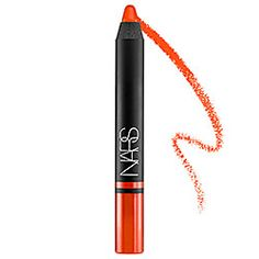 NARS Satin Lip Pencil NARS Satin Lip Pencil in Timanfaya - mandarin orange redYu - bright pink #sephora