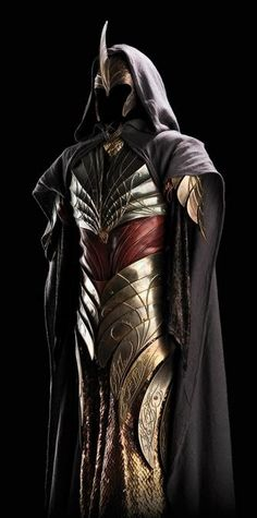 Lotr Lorien elves armour and Elves of the Second Age armour - Weta Workshop