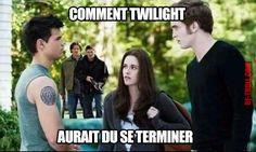 Comment Twilight aurait dû se terminer... - Be-troll - vidéos humour, actualité insolite